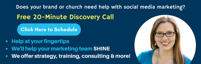 faith based social media services