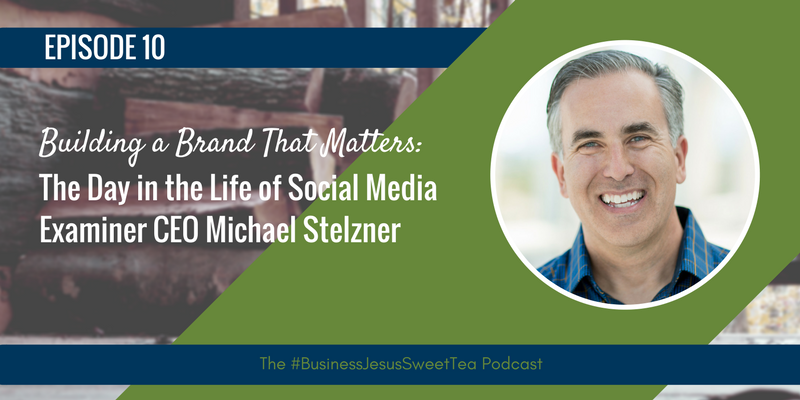 Building a Brand That Matters: The Day in the Life of Social Media Examiner CEO Michael Stelzner