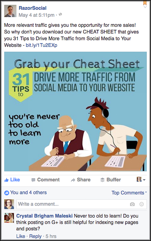 25 Facebook Post Ideas for Businesses Before You Spend Any Money on